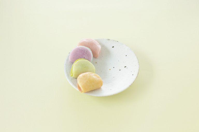 〈御室和菓子 いと達〉の包み餅