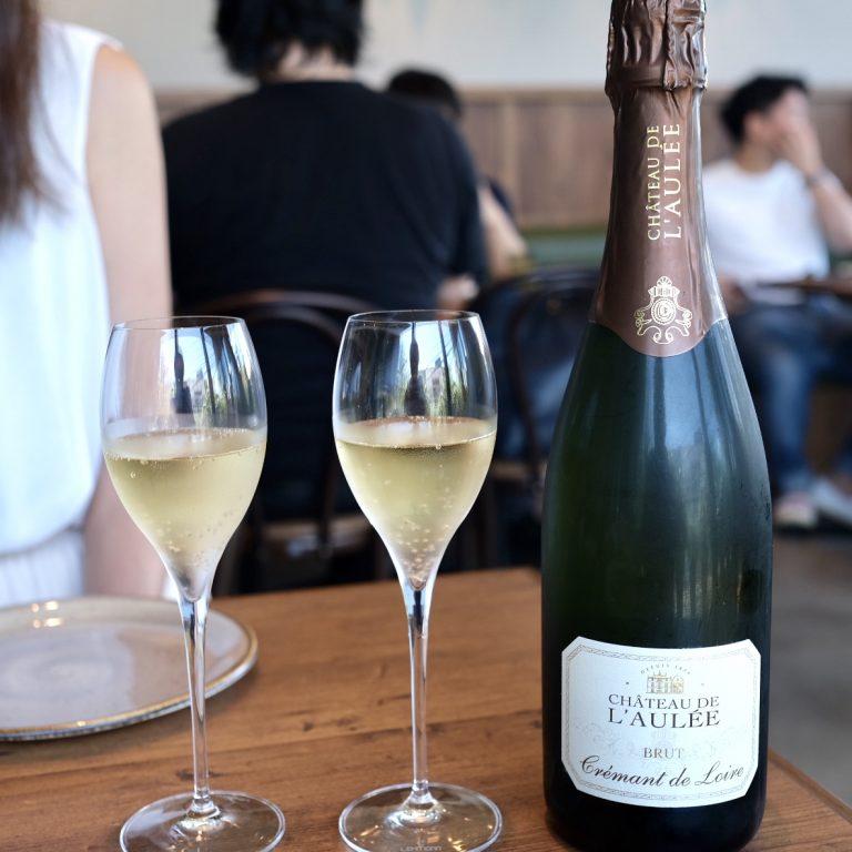 スパークリングワイン「Chateau de L'Aulee」も飲み放題!