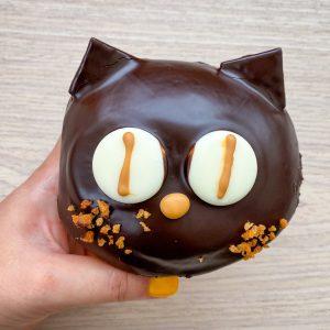 """「黒ネコの""""キャラメル""""」250円。"""