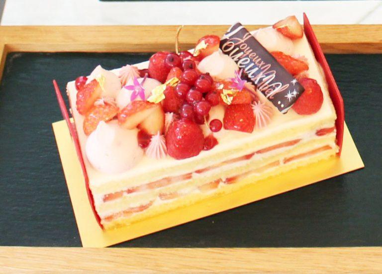 「ストロベリーショートケーキ」Sサイズ(縦15㎝×横7.5㎝)/4,800円