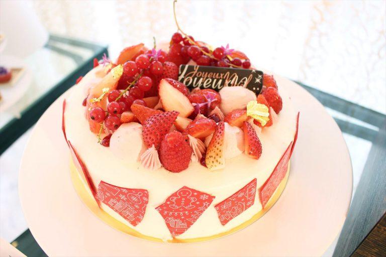 「ストロベリーショートケーキ」Lサイズ(直径21㎝)/7,000円。
