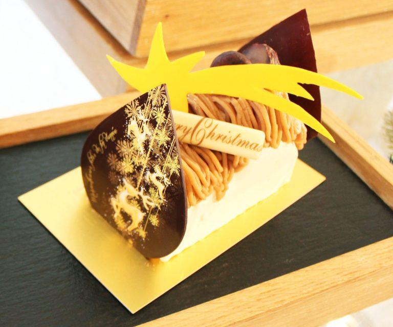 「モンブラン ブッシュ ド ノエル」縦12㎝×横7.5㎝/5,000円