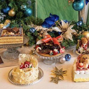 〈ロイヤルパークホテル〉2020年新作のクリスマスケーキで、聖夜を華やかに彩って。
