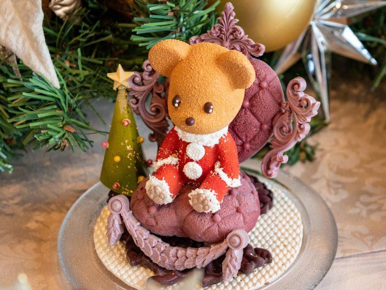 """「クリスマスチョコレート""""ベアーサンタ""""」2,500円(30個限定)。"""