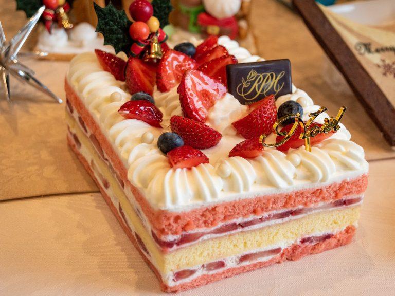 「クリスマスショートケーキ」(L)4,500円、(S)3,000円。※店頭販売あり