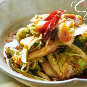 余った野菜でできる!即席キムチの作り方。~細川芙美の「SIDE-Bクッキング」~