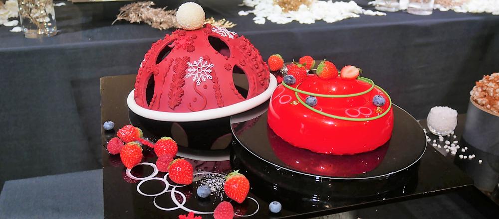 <span>聖夜を華やかに彩るホテルのクリスマスケーキ。</span> 2020年は〈パレスホテル東京〉のクリスマスケーキで、おうちパーティーを!