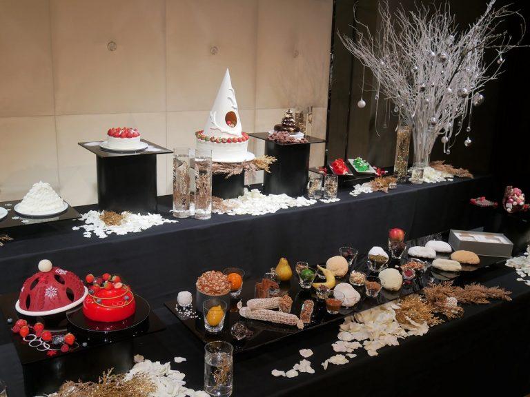 パレスホテル東京2020クリスマスケーキ2