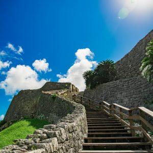 #勝連城跡 #美しい石段の曲線