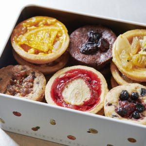 12種の果実を使った東京駅限定クッキー「カン・デリシュ」2,600円。
