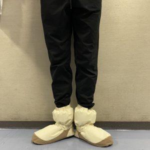 履くとこんな感じです。