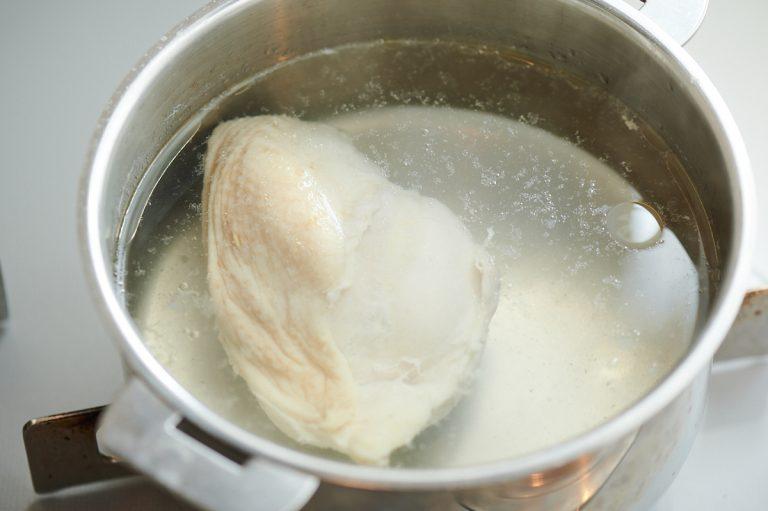 「茹で鶏とひしおの万能ソース」