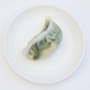 中華野菜と海老の蒸し餃子