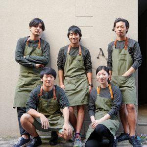 上段左から山口歩夢さん、篠原祐太さん、白鳥翔大さん。下段左から関根賢人さん、豊永裕美さん。