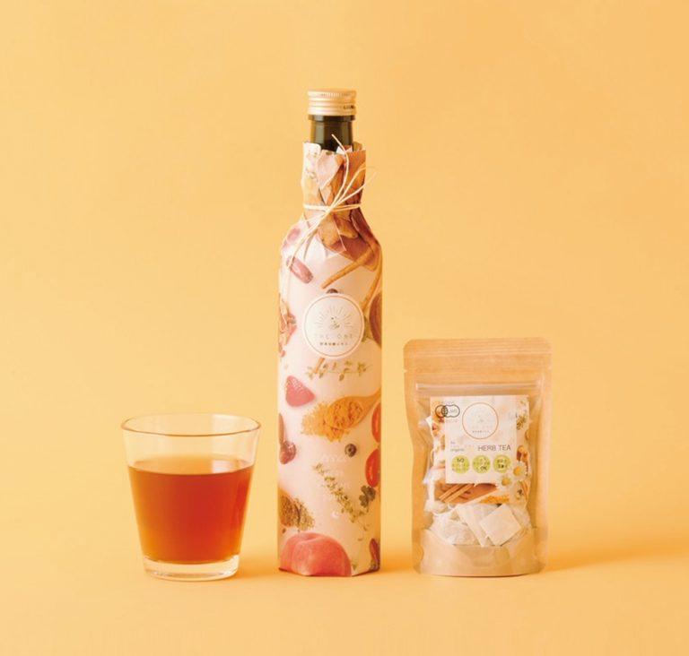 「THE ONE野草発酵エキス+専用オーガニックハーブティー」