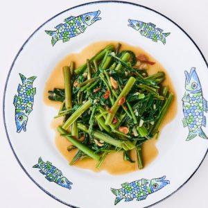 醤油のルーツ「醤(ひしお)」がタイ料理に!簡単アレンジレシピ「空芯菜の炒め物 ひしお風味」