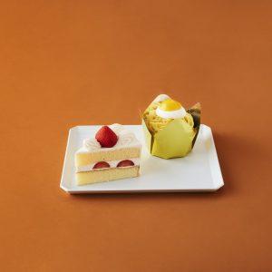今回作るのはこれ!〈銀座コージーコーナー〉の苺のショートケーキ&モンブラン