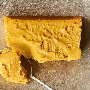 〈Mr. CHEESECAKE〉のハロウィン限定商品「Pumpkin Butterscotch(パンプキン バタースコッチ)」。昨年より進化したカボチャフレーバーは必食です!