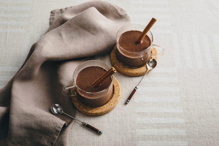 「ジンジャーホットチョコレート」