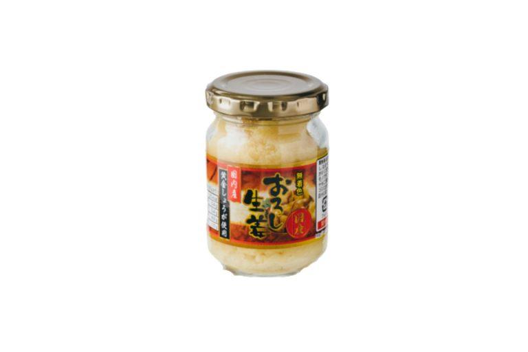 「国内産黄金しょうが使用 おろし生姜」