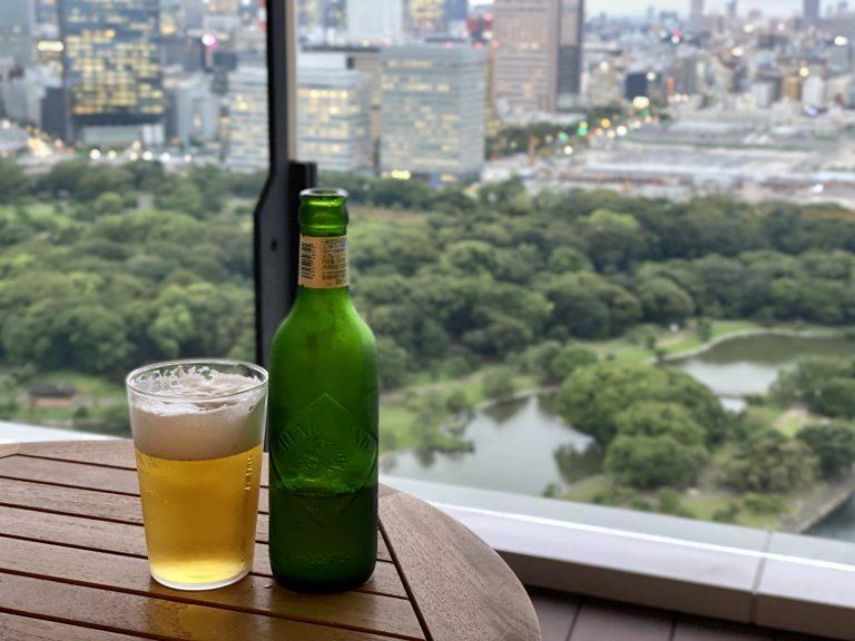夕食前に客室バルコニーにてビールでアペロタイムを過ごすのもよさそうです。