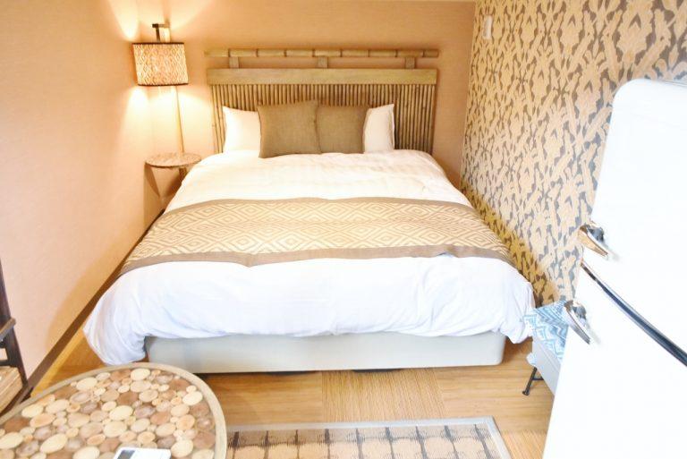 2段ベッドの下段は寝心地バツグン!