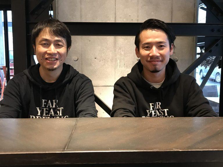 代表取締役の山田司朗さん(左)とシェフの富田浩嗣さん。