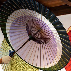 時代劇で見かける武士の傘張り内職は、岐阜でも行われていたとか。