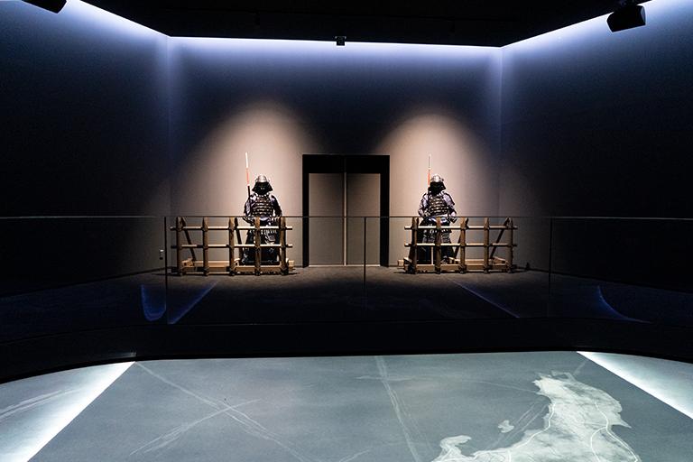 グラウンド・ビジョンでは関ケ原の戦いまでのストーリーも紹介されます。
