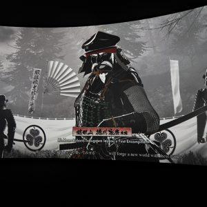 東軍を率いる徳川家康。