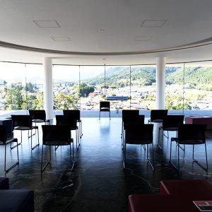 5階の展望室は360度パノラマビュー。