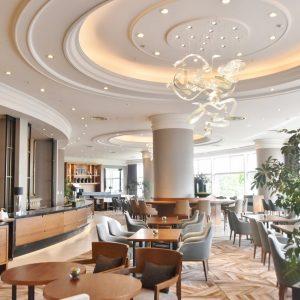 昨年3月にオープンをした〈The Lobby Cafe〉。