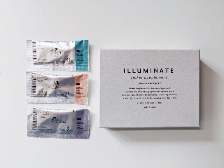〈ILLUMINATE〉の「チケットサプリ」。