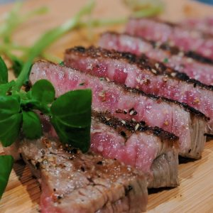 先日は、自宅でお肉を焼いたときにふりかけました。
