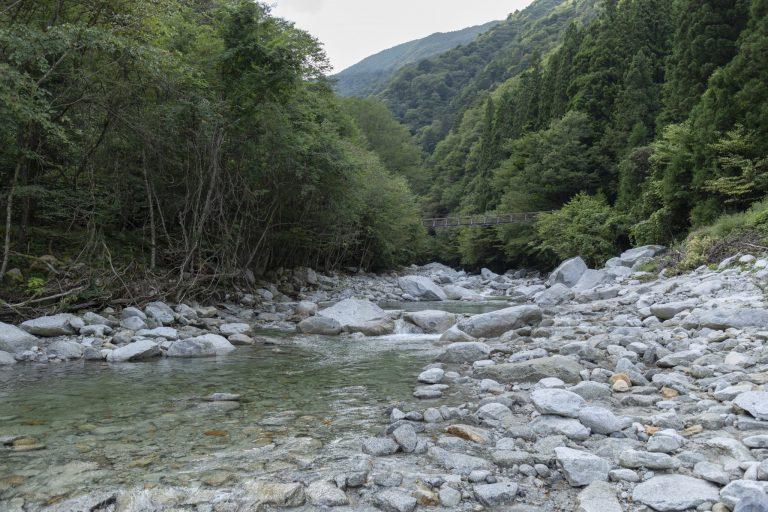名水百選に選定された水源が農作物を育む。