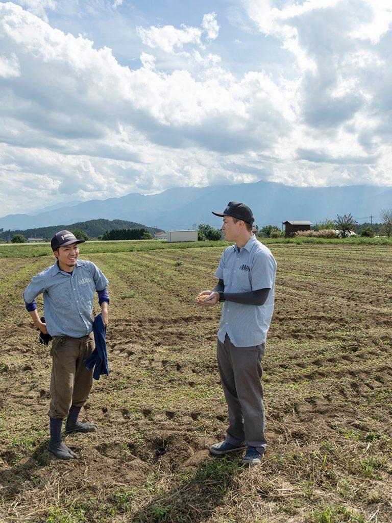 「北杜市で農業に携われることが幸せ」