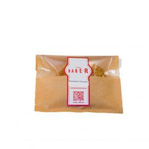 ハーブを使用した〈Ovgo Baker〉のヴィーガンクッキー330円(期間限定)。