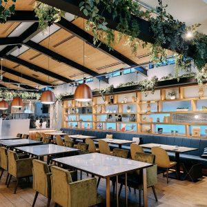 #Style Kitchen #緑がいっぱいの店内