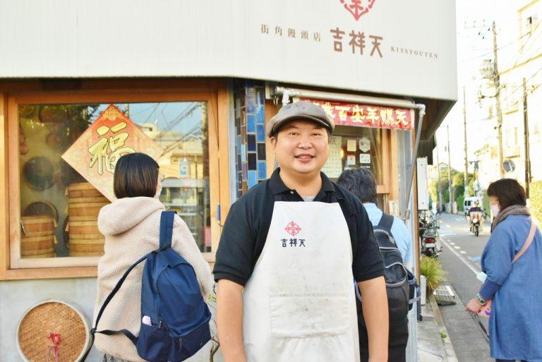 台湾でも『Hanako』は知られていると喜んでくれた邱さん。