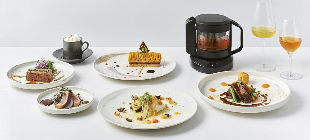 〈teplo〉と資生堂〈S/PARK Cafe〉が1日限定のティーペアリングレストランを開店。『teplo premium restaurant』レポート。