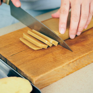 さつまいもとかんころ餅の天ぷら
