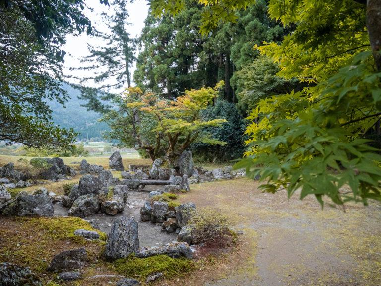 旧秀隣寺庭園(別名:足利庭園)。