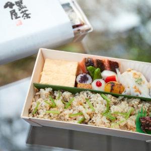 「季節のお弁当」(1,080円) ※2営業日前までのご予約制