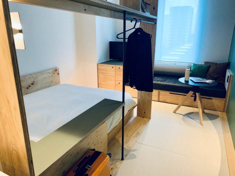 「ダブルルーム」(2名用)。1泊1室2名利用時、1名あたり6,000円~。