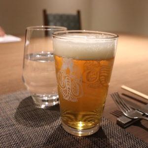 「クラフトザウルス ペールエール」は柑橘系の爽やかな香りでとってもおいしい。お気に入りの軽井沢のクラフトビール。