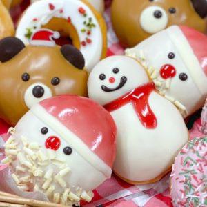 11月11日発売開始。〈クリスピー・クリーム・ドーナツ〉の「HAPPY HOLIDAY」をチェック!