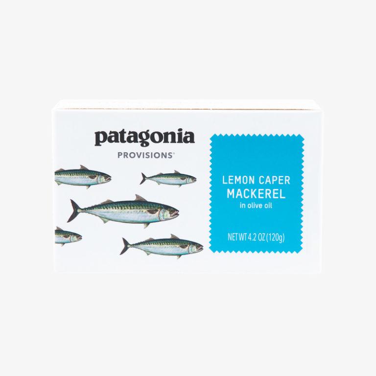 肉感と旨みのあるサバを使用。サントーニャ・サバ・オリーブオイル漬3種パック2,200円(パタゴニア日本支社/www.patagonia.jp/contact)