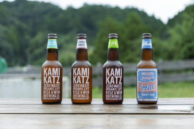 副原料に規格外農産物などを活用した瓶詰めビールは常時約6種。