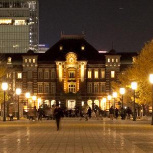 東京駅丸の内駅舎内のホテル。