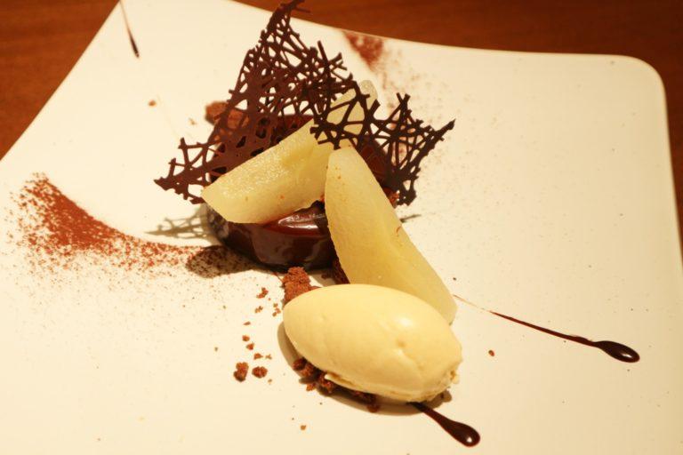 フードロス食材は梨を使用。